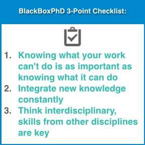 BlackBoxPhD Checklist825.001