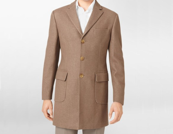 Calvin Klein Wool Blend Patch Pocket Topcoat, $495  The patch pockets on this Calvin Klein topcoat are what draw your attention, but the quality of the design is what will have you looking forward to winter just so you can sport this memorable topcoat.