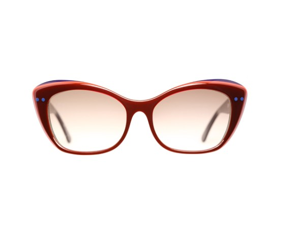 """TRENDS: """"Retailers and manufacturers adjust their apparel and accessories colors according to what designers think consumers will consider most appealing at a given time,"""" Miller-Johnson says.   Style Nod: """"Caroline Abram eyewear exploits a large variety of material such as wood, natural stones and Swarovski crystals."""" Try subtle accents as featured in these ruby-toned glasses. Check availability at FilaoParis.com."""