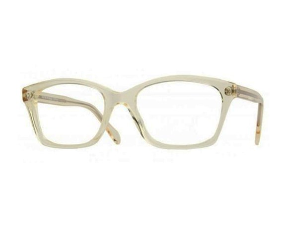 """FACE SCALE: Miller-Johnson advises purchasing frames that are in scale with your face. For example, to keep a natural balance for an oval-shaped face, look for eyeglass frames that are as wide as (or wider than) the broadest part of the face, or walnut-shaped frames that are not too deep or too narrow.""""   Style Nod: """"Oliver Peoples frames represent feminine glamor and the cutting-edge runway trends, using seasonal colors."""" Try these translucent """"Racine"""" frames which give vintage glam for the office. (FramesEmporium.com; $229)"""