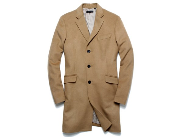 Uniqlo Grey Topcoat, $150  If you buy nothing else, buy a camel coat. Nothing compliments a suit better than a beautiful soft camel color topcoat. And at this price it's a steal.