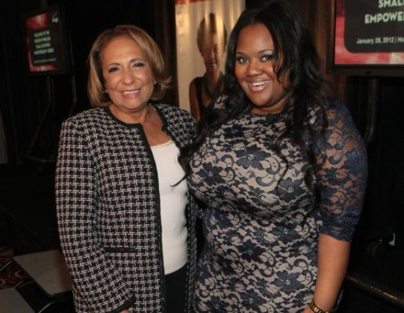 Cathy Hughes and Natasha Eubanks