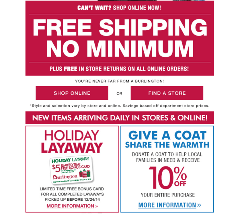 image about Burlington Coat Factory Printable Coupons called Burlington coat manufacturing facility black friday / Great container shop