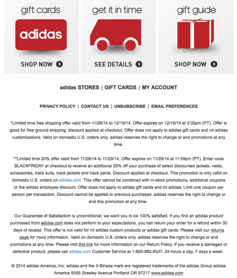 adidas come black friday ad scan - page 2
