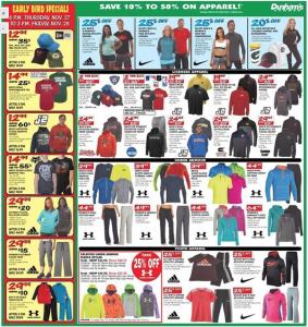 dunhams sports black friday ad scan - page 6