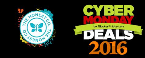 Honest Co Cyber Monday 2016