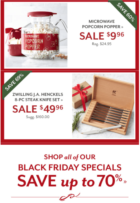 Sur la table black friday ad scan - page 6