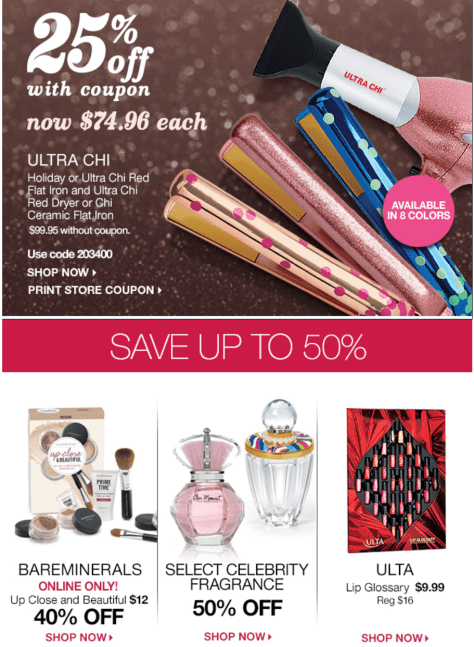 Ulta black friday ad scan - page 3