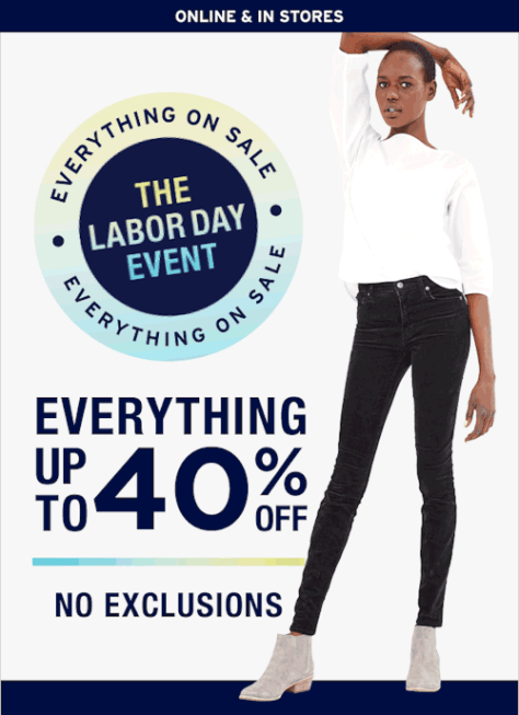 Gap Labor Day Sale - Page 2