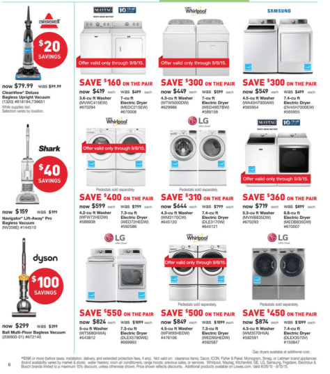 Lowes Labor Day Sale 2015 - Page 10