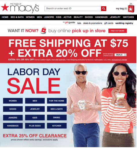 Macys Labor Day Sale 2015 - Page 1