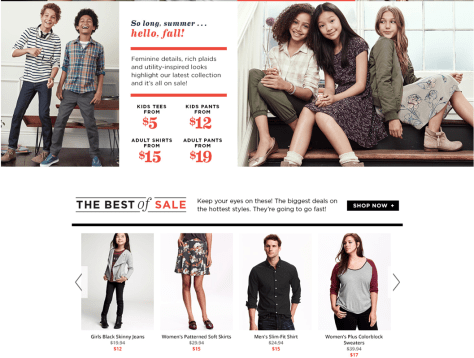 Old Navy Labor Day Sale 2015 - Page 2