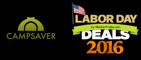 CampSaver Labor Day Sale 2016