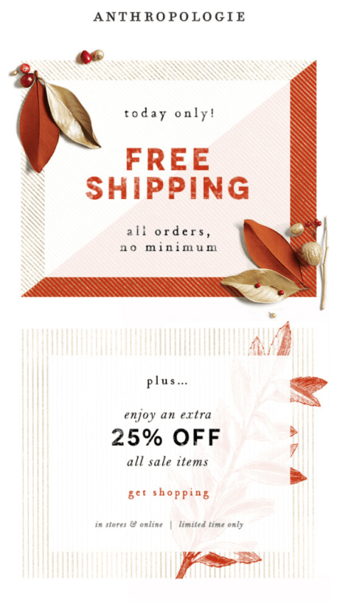 Anthropologie Cyber Monday 2015 Ad - Page 1