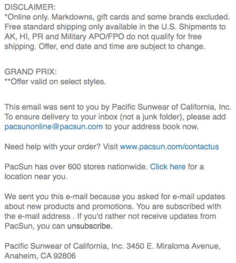 PacSun Cyber Monday Ad - Page 3
