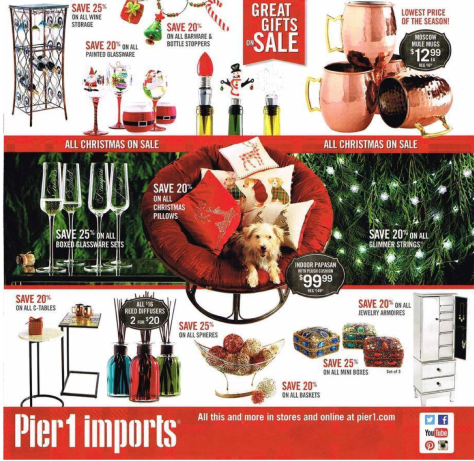 Pier 1 Black Friday 2015 Ad - Page 4