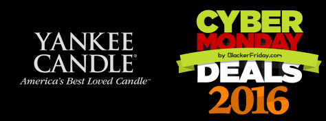 Yankee Candle Cyber Monday 2016