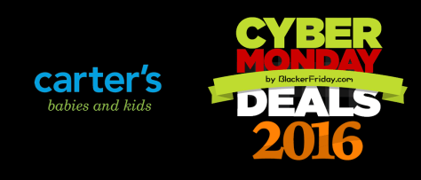 Carters Cyber Monday 2016