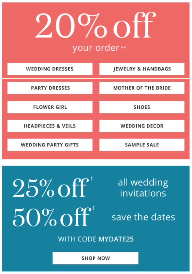 Davids Bridal Black Friday 2015 Flyer - Page 2