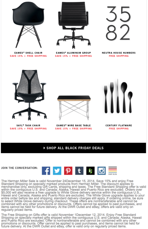 Design Within Reach Black Friday Ad - Page 2