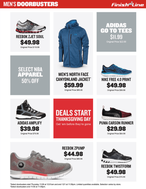 Finish Line Black Friday 2015 Ad - Page 2