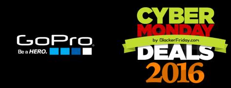 GoPro Cyber Monday 2016