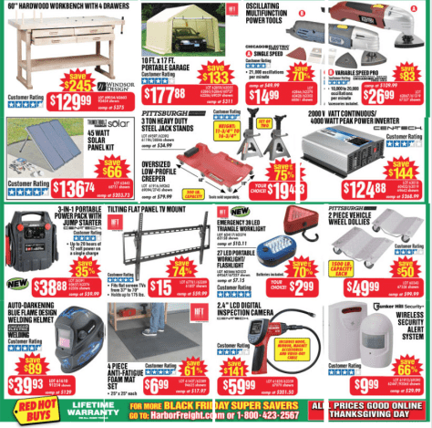 Harbor Freight Tools Black Friday 2015 Flyer - Page 3