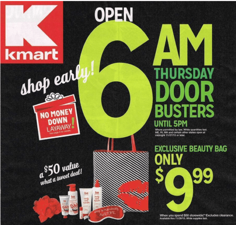 Kmart Black Friday 2015 Ad - Page 1