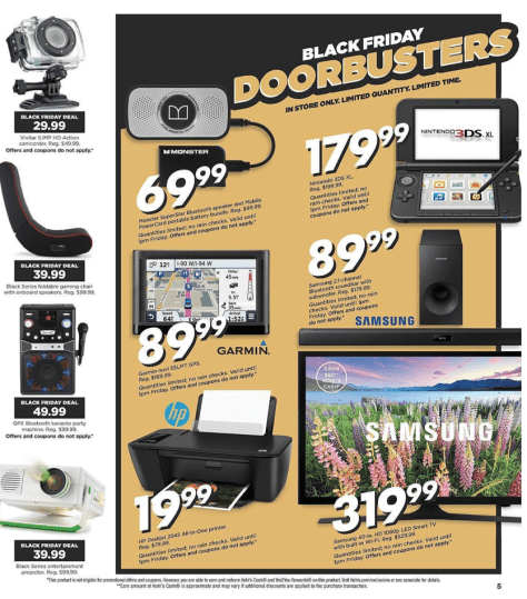 Kohls Black Friday 2015 Ad - Page 5