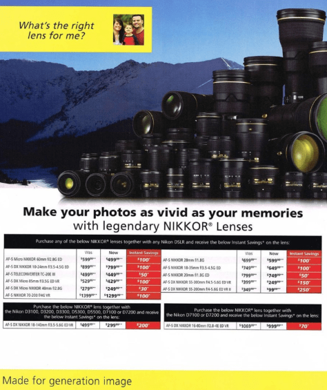 Nikon Black Friday 2015 Ads - Page 4