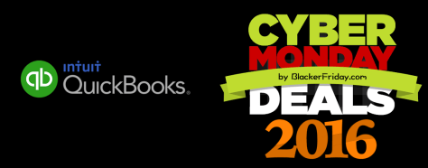 QuickBooks Cyber Monday 2016