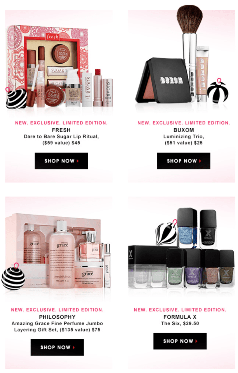 Nov 25,  · Img: Sephora Cyber Monday / Beauty Geek For the beauty queens: Make-up fans will be stocking up on their beauty collection with the glitziest eyeshadow palettes with these luscious deals.