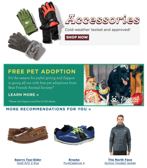 Zappos Cyber Monday 2015 Ad - Page 4