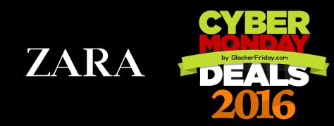 Zara Cyber Monday 2016