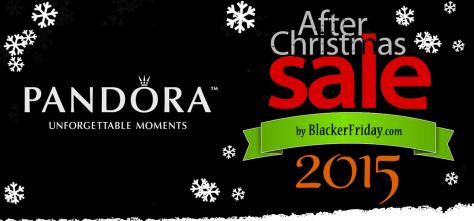 Pandora After Christmas Sale 2015