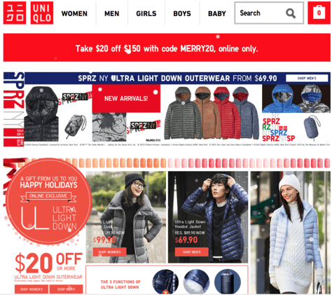 Uniqlo After Christmas Sale 2015 - Page 1