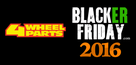 4 Wheel Parts Black Friday 2016