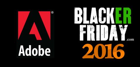 Adobe Black Friday 2016