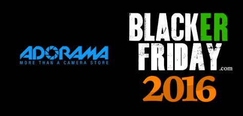 Adorama Black Friday 2016