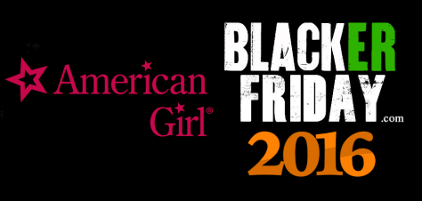 American Girl Black Friday 2016