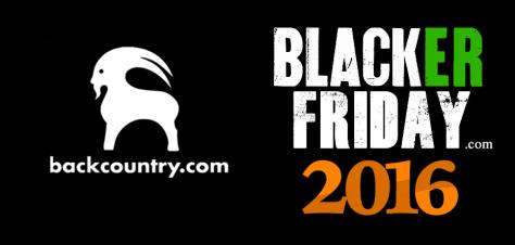 Backcountry Black Friday 2016