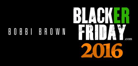 Bobbi Brown Black Friday 2016