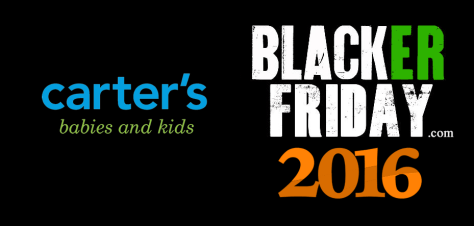 Carters Black Friday 2016