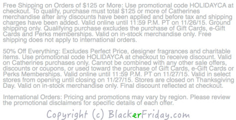 Catherines Black Friday Ad Scan - Page 2