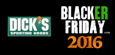 Dicks Sporting Goods Black Friday 2016