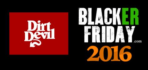 Dirt Devil Black Friday 2016