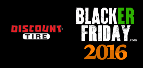 Discount Tire Black Friday 2016