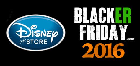 Disney Store Black Friday 2016