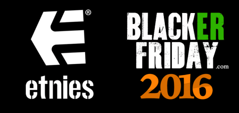 Etnies Black Friday 2016