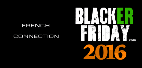 French Connection Black Friday 2016